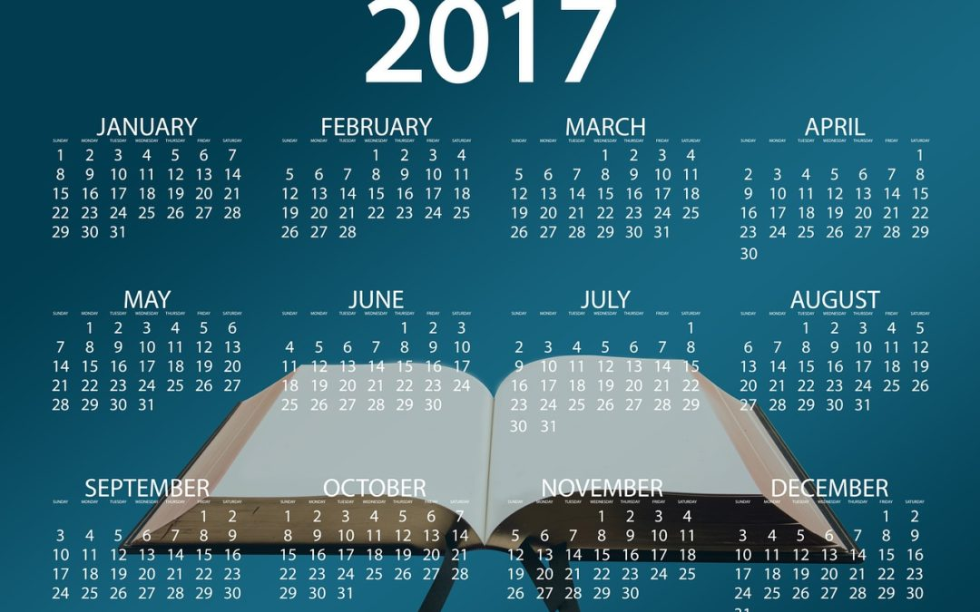 The LGC calendar for 2017