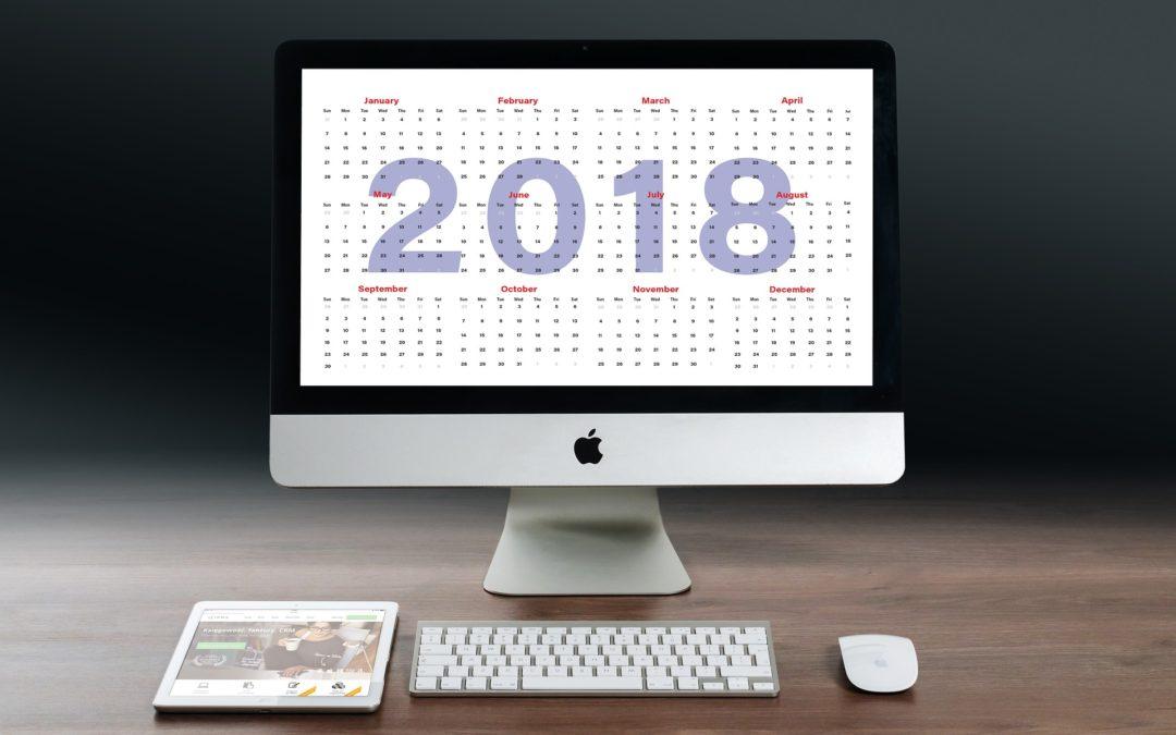 The LGC calendar for 2018
