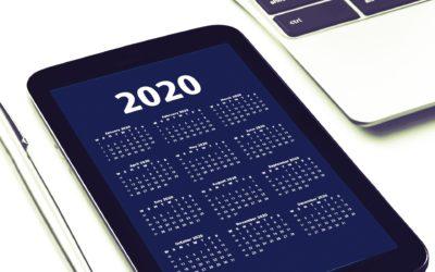 The 2020 LGC Calendar
